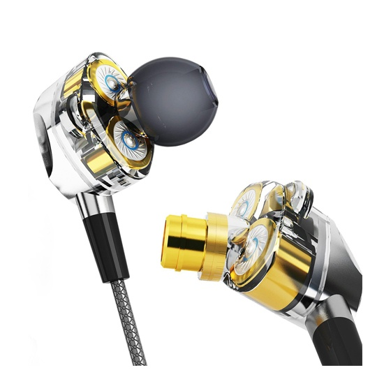 G2 Dual Synamic Driver Speaker earphone