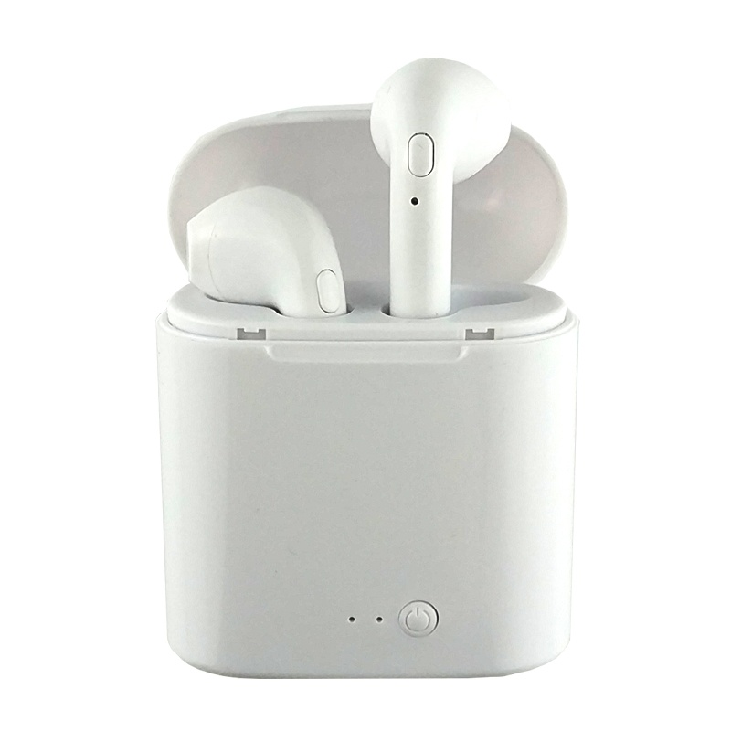 i7s tws bluetooth headsets for iPhone White